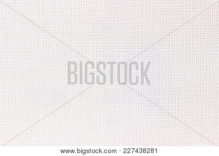 Structures On Bright Paper As Background. Shot In Studio.