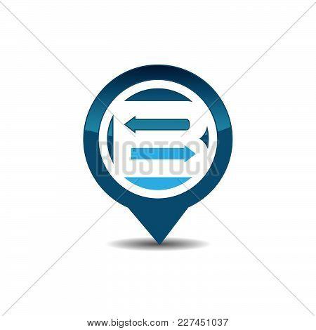 B Letter Gps Logo. Gps Vector. Gps Icon. Navigation Vector Logo. Navigation Vector Icon. Travel Logo