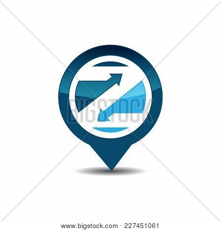 Z Letter Gps Logo. Gps Vector. Gps Icon. Navigation Vector Logo. Navigation Vector Icon. Travel Logo