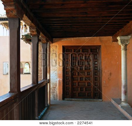 Alhambra Balcony Door
