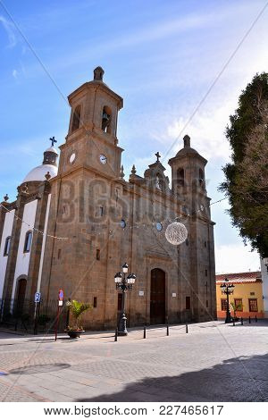 Photo Picture Of A Small Church Las Palmas In Spain