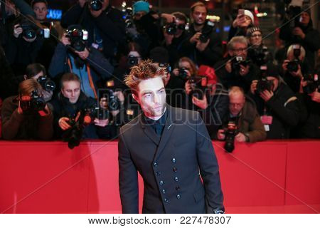 Robert Pattinson attends the 'Damsel' premiere during the 68th Film Festival Berlin at Berlinale Palast on February 16, 2018 in Berlin, Germany.