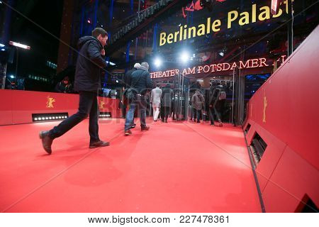 Atmosphere attends the Berlinale during the 68th Berlinale International Film Festival Berlin at BerlinalePalace on February 16, 2018 in Berlin, Germany.