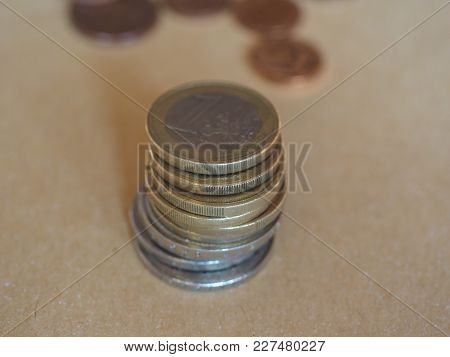 Euro Coins Money (eur), Currency Of European Union