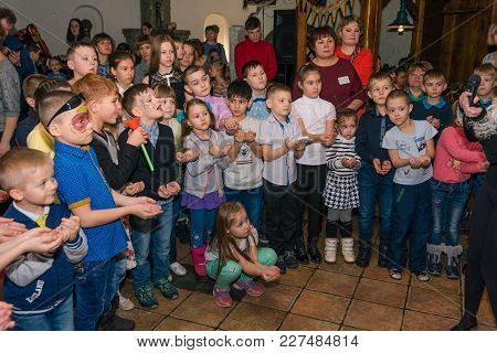 02.02.2018 Zatei 10 Years Entertainment Program For Children. Russia Altai Region City Zarinsk. Many