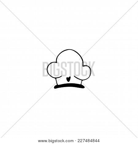 Chef's Hat Logo Element