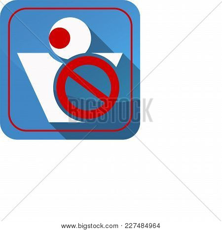 The Icon Of The Restrictions On Movement Of People