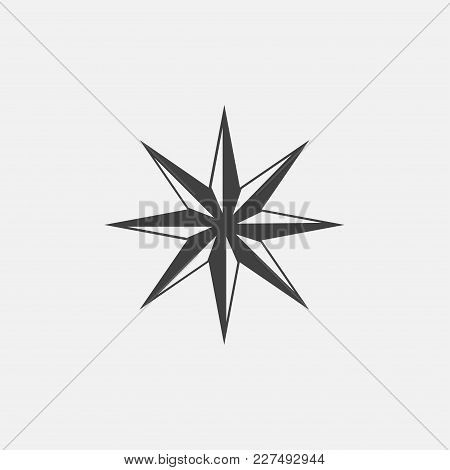 Star Icon Vector Illustration. Rating Icon Vector