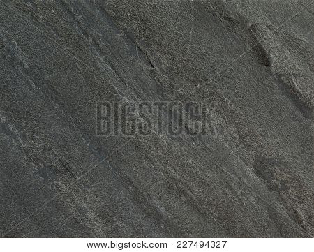 Black Granite Stone Texture Background. Material Construction.