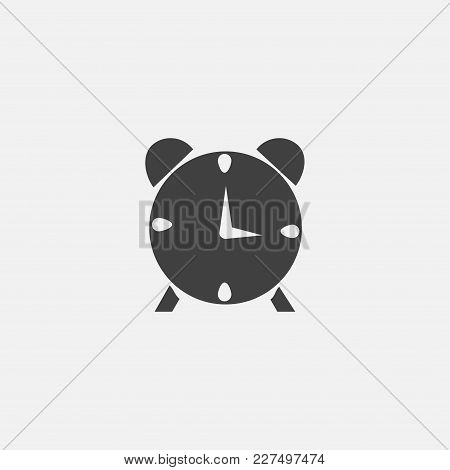 Alarm Clock Icon Vector Illustration. Timer Icon Vector