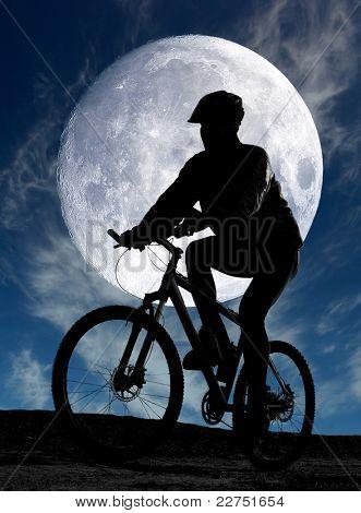 evening cycling