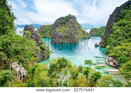 Landscape Of Coron, In Busuanga Island, Palawan