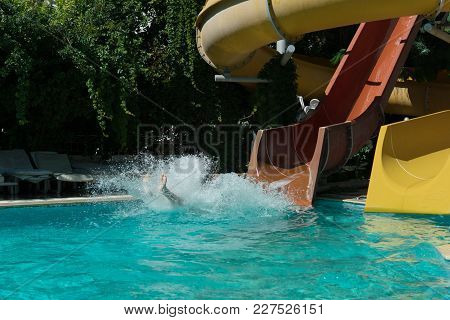 Incident On The Water Slide