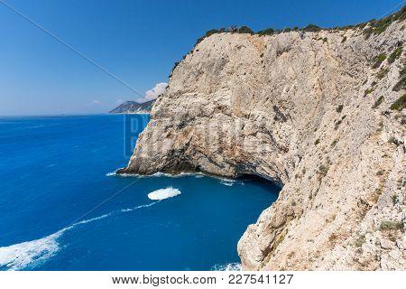 Rocks Near Porto Katsiki Beach, Lefkada, Ionian Islands, Greece