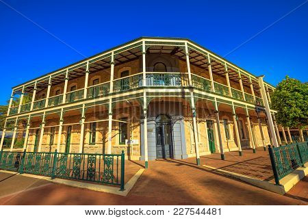 York, Australia - Dec 25, 2017: Imperial Inn, Avon Terrace, York, Popular Tourist And Historic Town