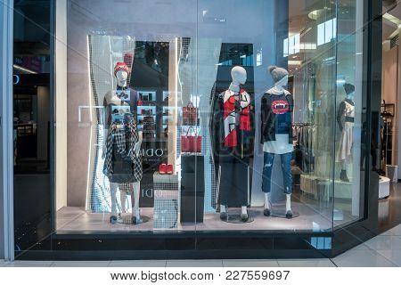 Jaspal Shop At Mega Bangna, Bangkok, Thailand, Nov 16, 2017 : Luxury And Fashionable Clothing Brand