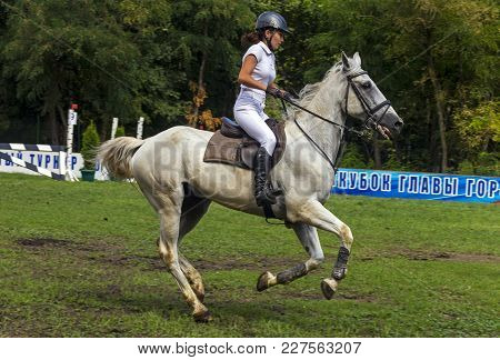 Pyatigorsk,russia - September 02,2017:competitions In Equestrian Sport For The Cup Of The Pyatigorsk