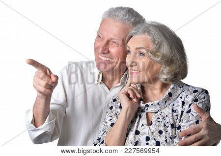 Portrait Of A Happy Senior Couple, Close Up