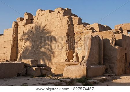 Karnak Temple, The Ruins Of The Temple