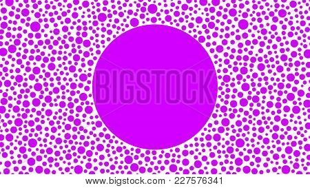 Fashionable, Ultraviolet Geometric Background With Space For Text, For Your Advertising, Design, Bus