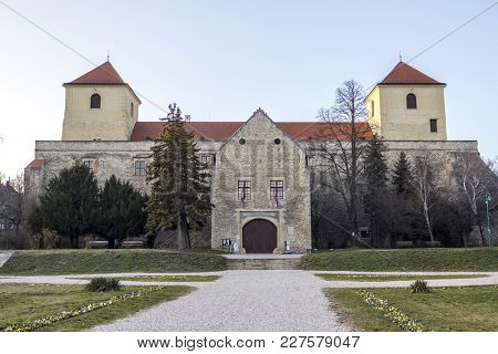 The Medieval Thury Castle Museum In Varpalota, Hungary.