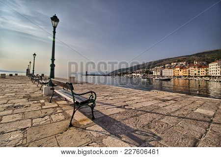 Panorama Of Senj - Istria - Croatia