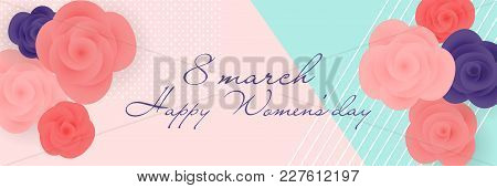 8 March Mothers Womens Day Mint Rose
