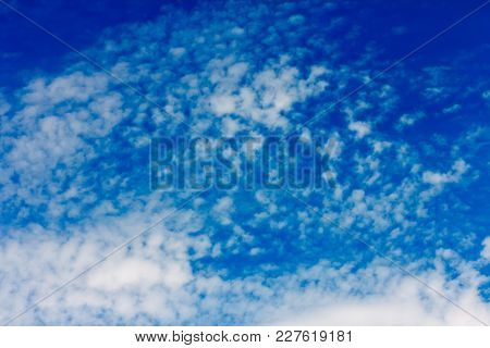 White Fluffy Clouds In The Blue Sky,breezy,fresh On All Day