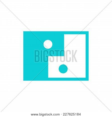 Interaction Abstract Face People Symbol Vector Illustration Graphic Design