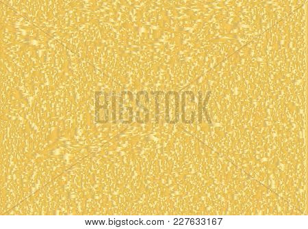 Distressed Grunge, Noise Texture Design Element. Yellow And White Vector Background.