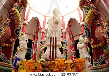 Kuan Yim Or Kwan Yin  Is The Goddess Of Mercy