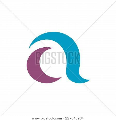 Initial Letter A Vector Logo Template. Available In Editable Eps Vector Format.
