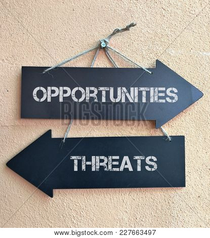 Threats and opportunities signpost