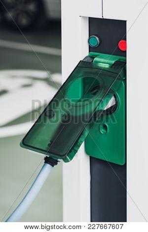 Electric Car, Close Up Image,  Plug-in Hybrid