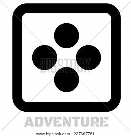 Adventure Conceptual Graphic Icon. Design Language Element, Graphic Sign.