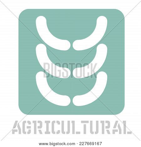 Agricultural Conceptual Graphic Icon. Design Language Element, Graphic Sign.