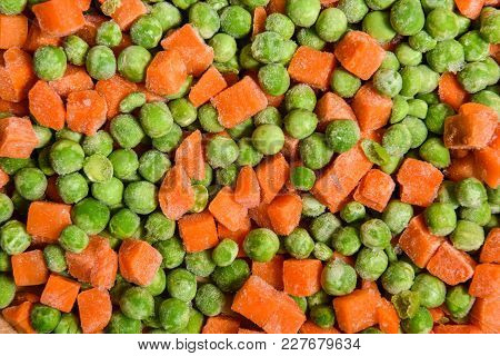 Frozen Peas And Carrots, Vegetables And Frozen Foods