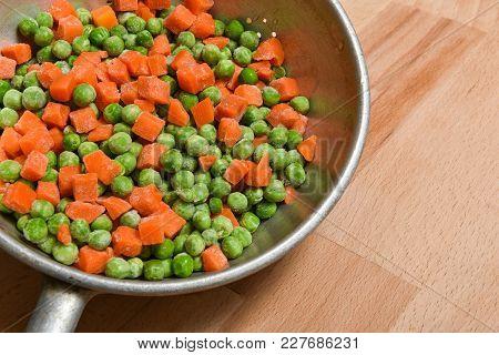 Frozen Peas And Carrots, Vegetables And Frozen Foods