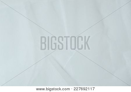 Close Up Of White Fabric Nylon Background And Texture
