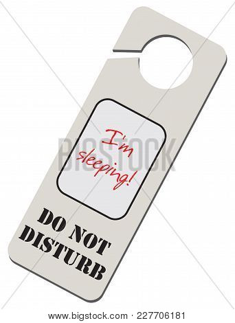 Do Not Disturb - Sleeping