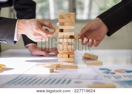 Business Risk Strategy And Planing Concept Idea.
