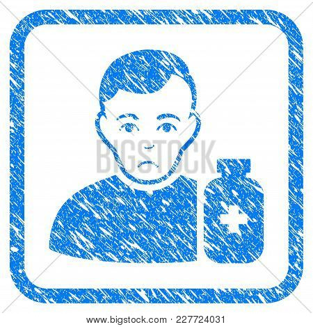 Medical Pharmacist Rubber Seal Stamp Watermark. Icon Vector Symbol With Grunge Design And Corrosion