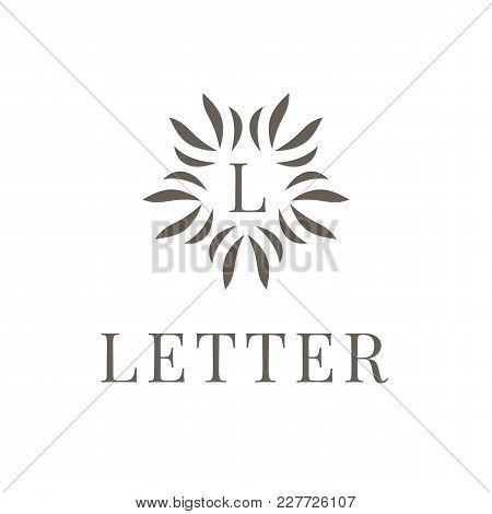 Letter L Logo Icon Design Template Element On White Background. Modern Symbol For Company Or Busines