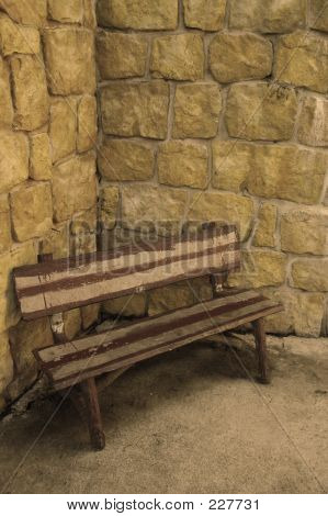 Bench In A Corner