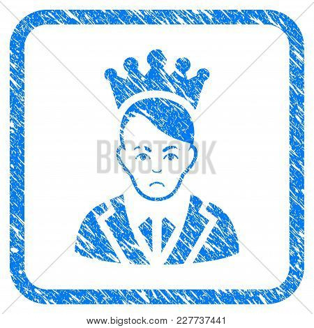 Prince Rubber Seal Stamp Watermark. Icon Vector Symbol With Grunge Design And Corrosion Texture Insi