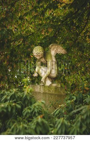 Statue Of Sad Angel