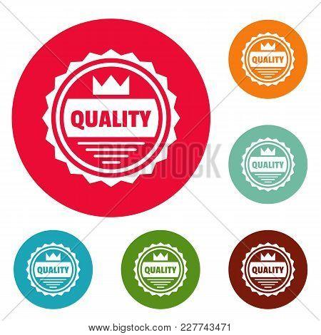 Big Quality Logo. Simple Illustration Of Big Quality Vector Logo For Web