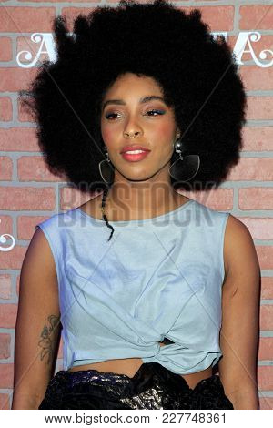 LOS ANGELES - FEB 19:  Jessica Williams at the