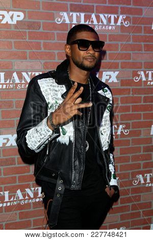 LOS ANGELES - FEB 19:  Usher at the