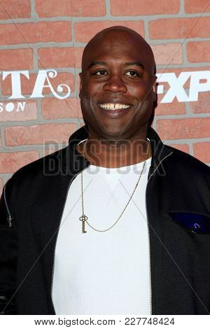 LOS ANGELES - FEB 19:  Kevin Daniels at the